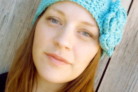 Crochet Boho Headband with Flower - Sarahndipities