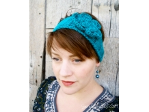 Boho Headband Blue Mint