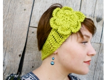 Boho Headband Lemongrass