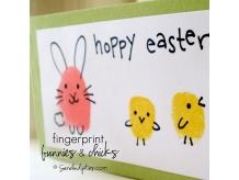 Fingerprint Bunnies & Chicks