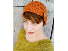 Crochet Button Beanie