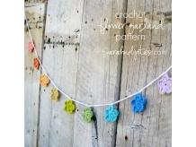Crochet Flower Garland Pattern