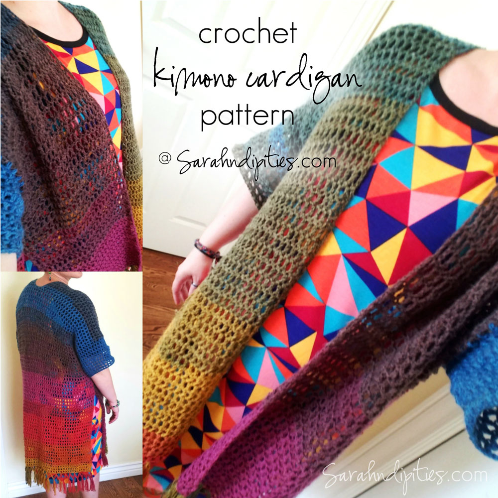 Things to Make: Crochet Kimono Cardigan | Sarahndipities