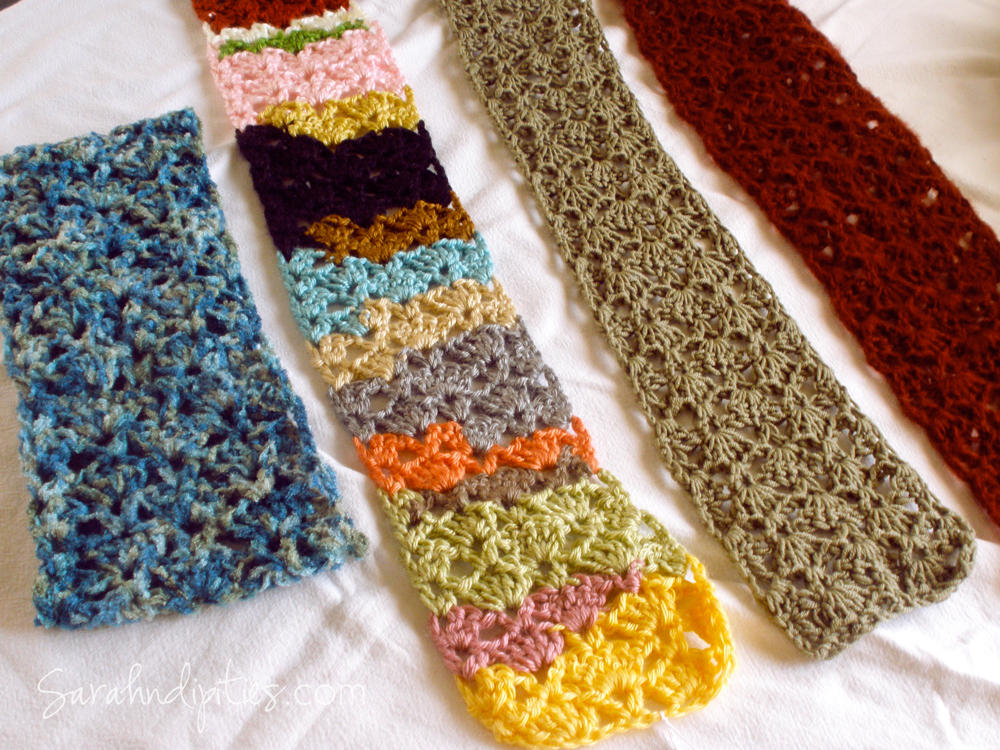 Things To Make Stashbuster Crochet Scarf Free Pattern