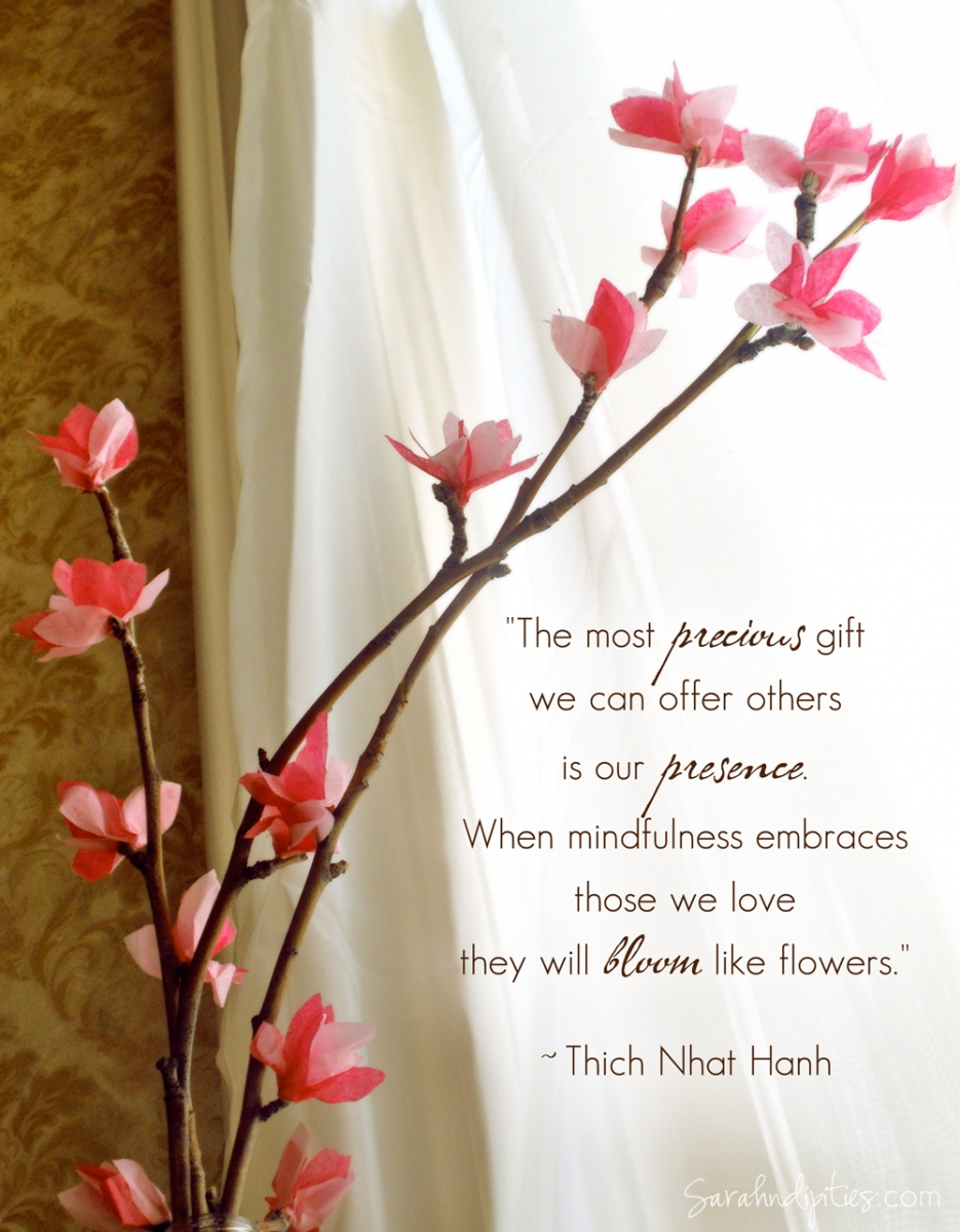 Things Make Tissue Paper Cherry Blossoms on Spring Poems About Love For Kids