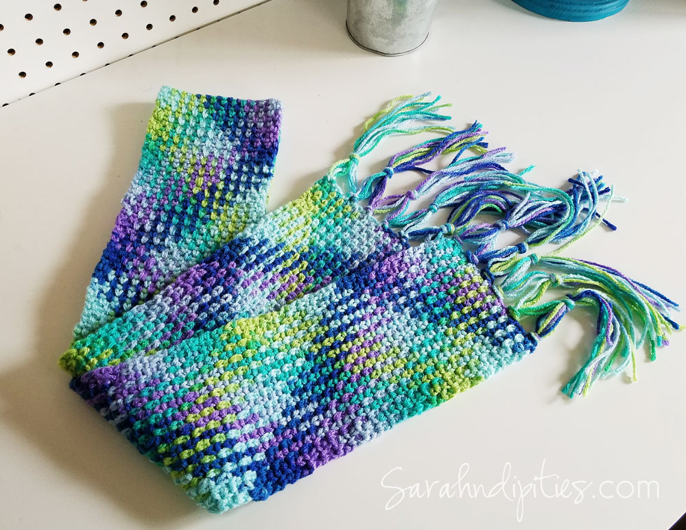 Great Idea Crochet Planned Color Pooling Sarahndipities